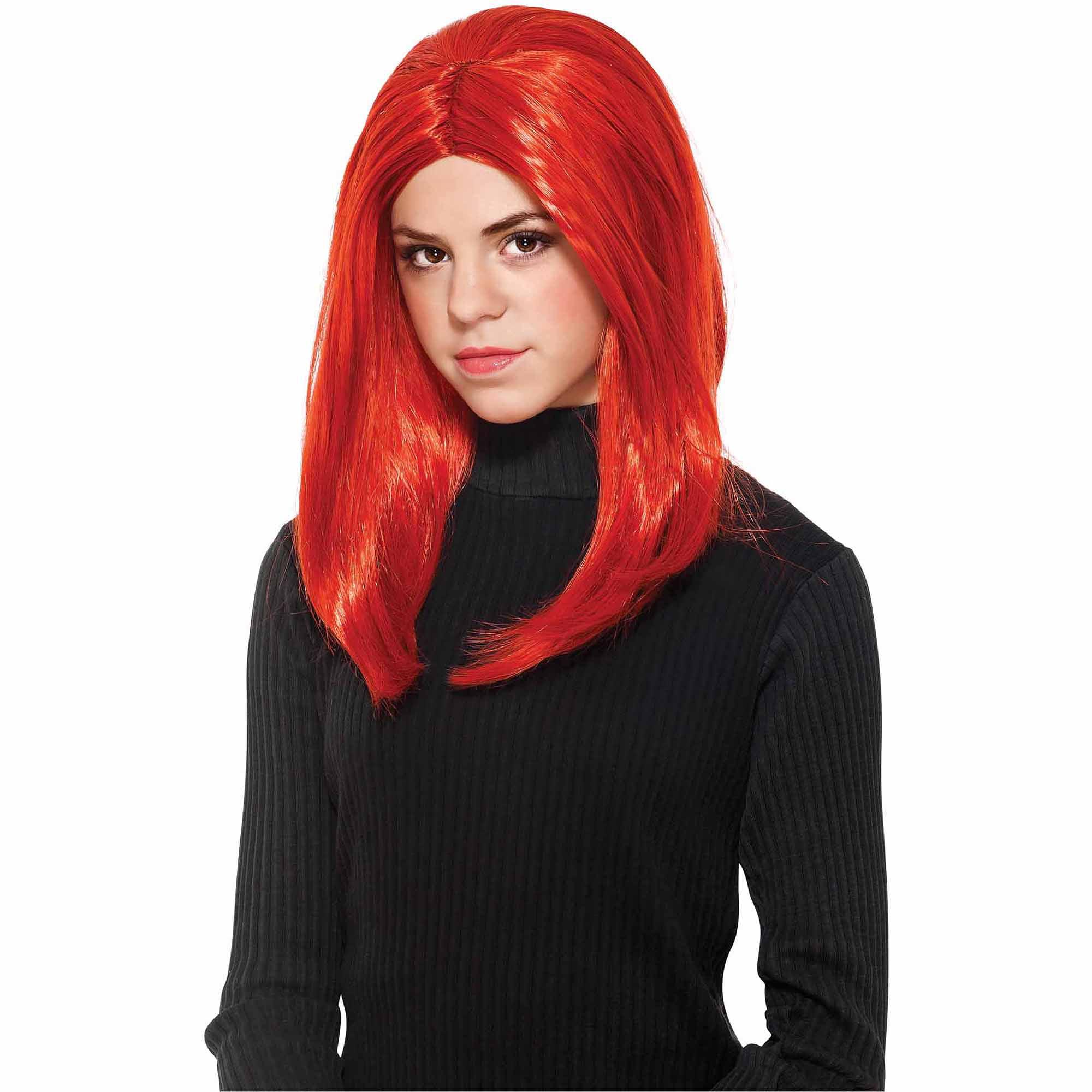 Black Widow Wig Adult Halloween Accessory