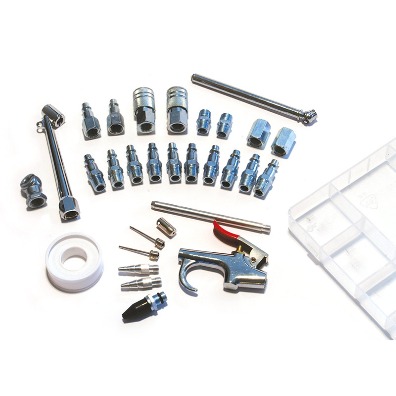 PrimeFit 30-Piece Air Compressor Accessory Kit