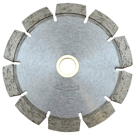- 4-1/2'' x250'' x 7/8'' - 5/8'' Tuck Point blade Cutting Cutter 10mm Rim Concrete and Mortar Joint Removal