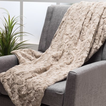 Fabric Throw - Noble House Lucca Pollen Fabric Throw Blanket