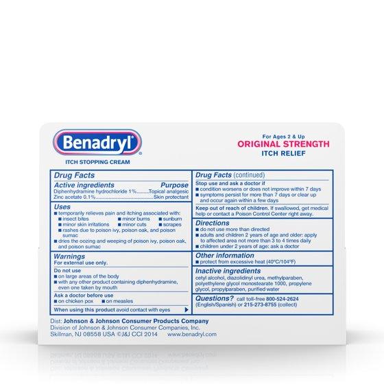 Original Strength Itch Relief Cream, Topical Analgesic, 1 oz