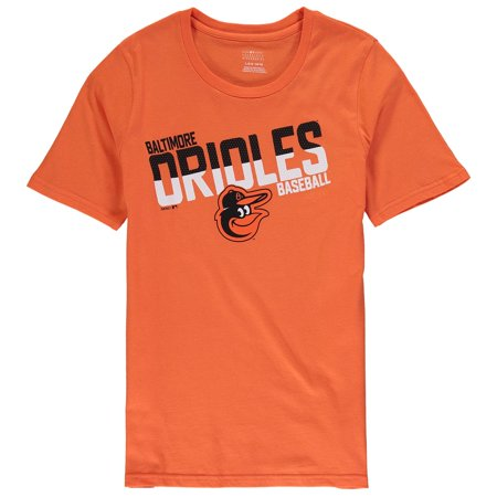 Baltimore Orioles Youth Alternate All Meshed Up T-Shirt - Orange