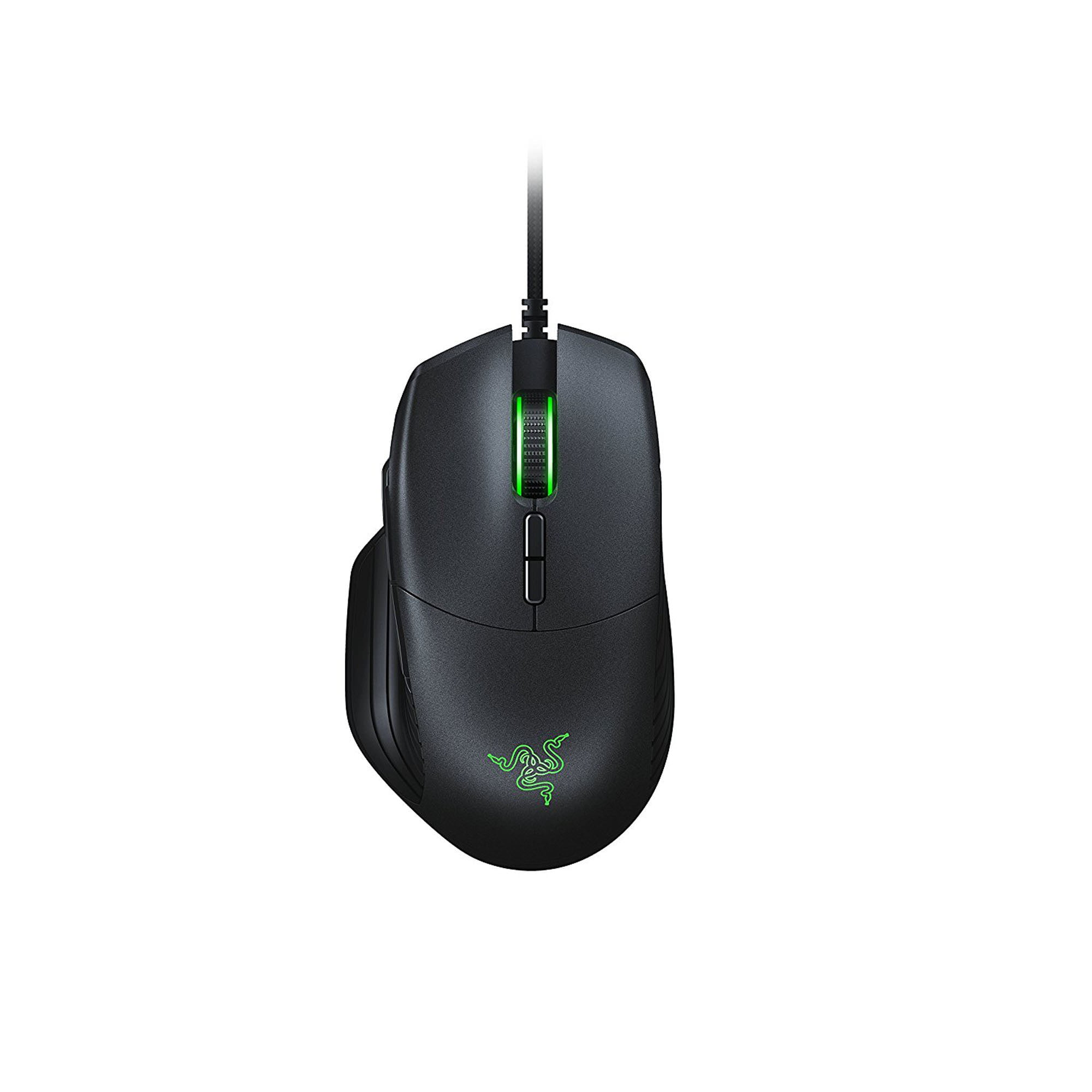Razer Basilisk Chroma Enabled RGB FPS Gaming Mouse with DPI Clutch and Customizable Scroll Wheel Resistance by RAZER