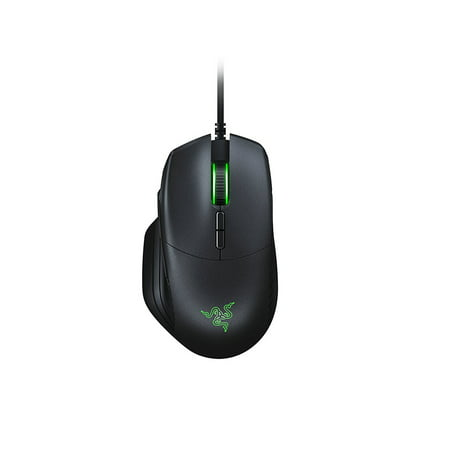 Razer Basilisk: True 16,000 5G Optical Sensor - Removable DPI Clutch & Customizable Scroll Wheel Resistance - Ergonomic Form Factor - Esports Gaming (Scroll Ball Mouse)