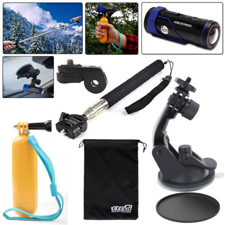 Eeekit For Ion Air Pro 3 2 Wifi Hd Camera  Extendable Handheld Monopod Floaty Grip Pole Car Mount