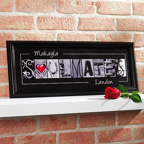 Personalized Soulmates Framed Print