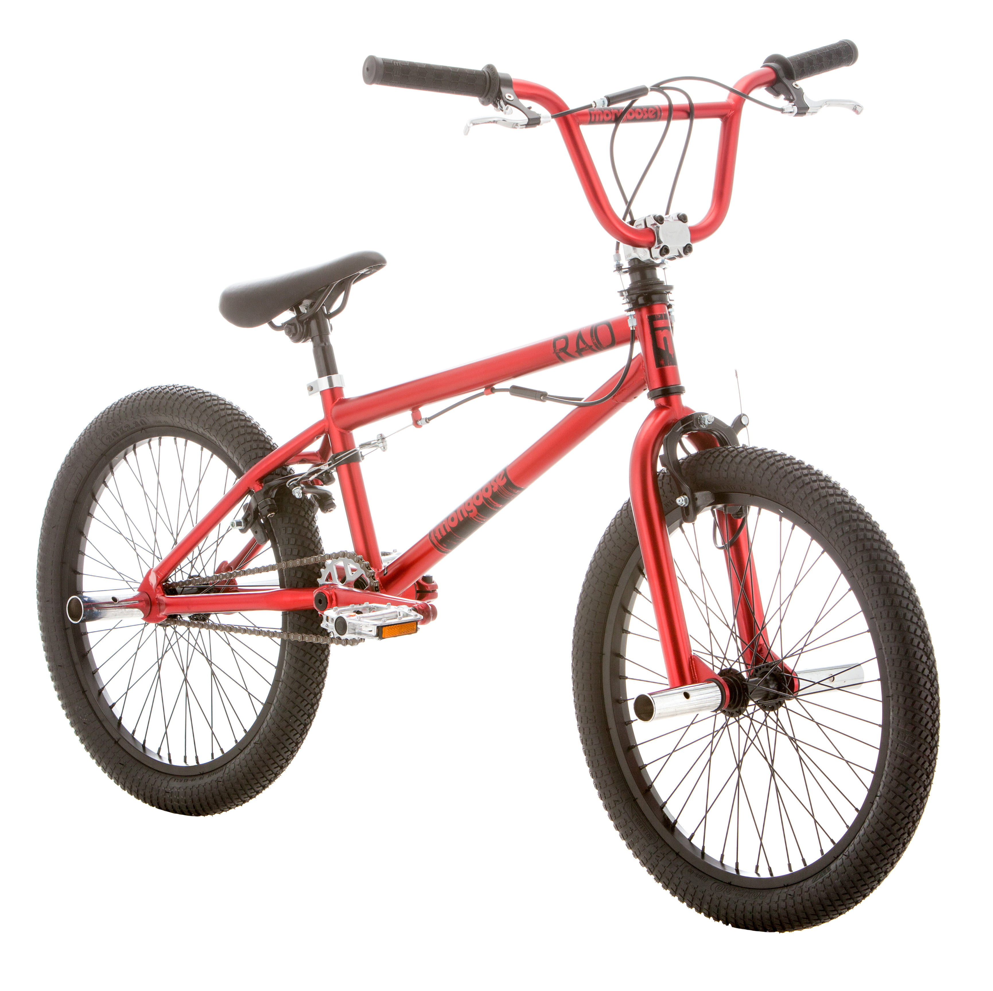 """20"""" Mongoose Raid Boys' Freestyle Bike, Red by Pacific Cycle"""