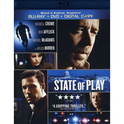 State Of Play (Blu-ray + Standard DVD) (Widescreen)