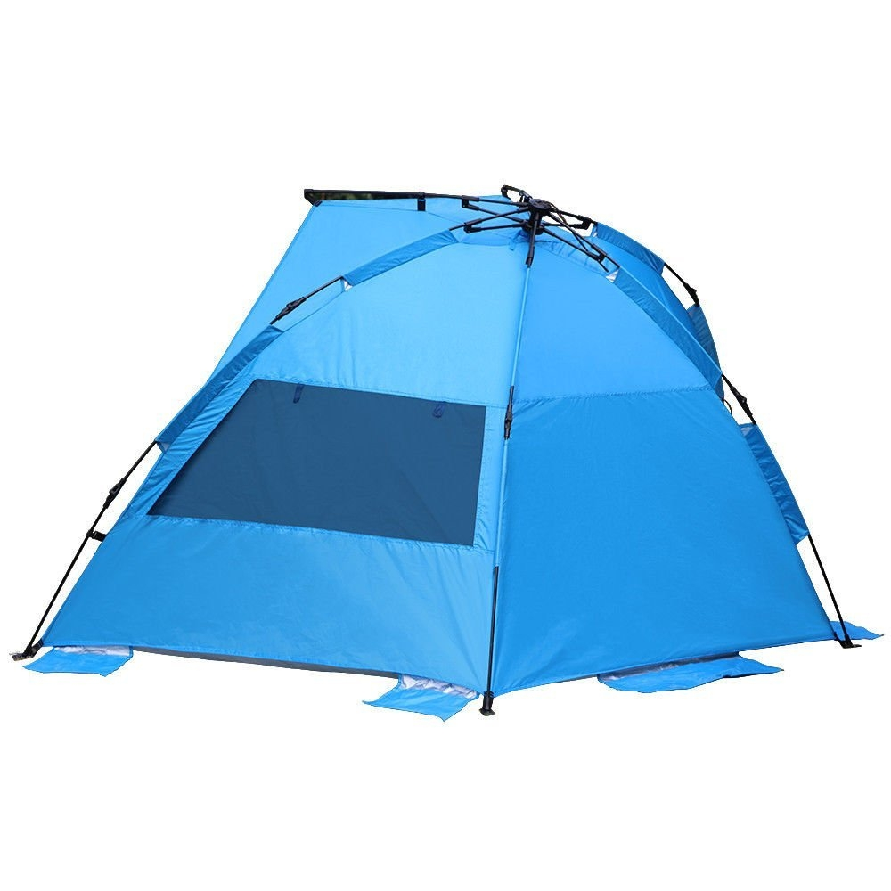 New MTN-G Easy Up Beach Tent Outdoor Canopy Sun Shelter Instant UV