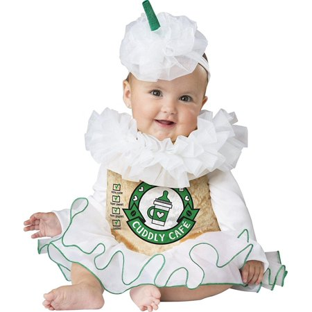 Cuddly Cappuccino Baby Costume - White Rabbit Costume Baby