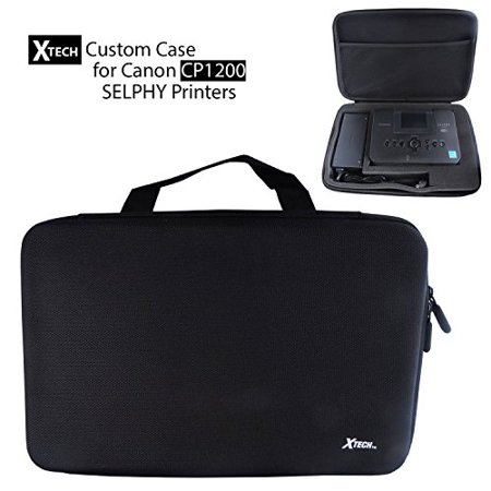 Xtech Custom Case for Canon CP1200 Selphy Printer with carve out foam to cust...