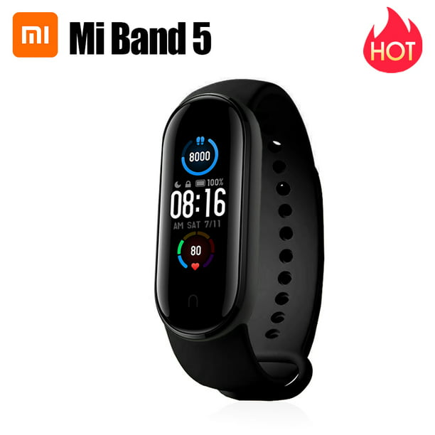 Xiaomi Mi Band 5 Fitness Tracker Wristband Dynamic Color AMOLED Screen 11 Sports Modes Smart Bracelet Magnetic Charge Bluetooth 5.0 Smart Watch Sports Health Activity Tracker