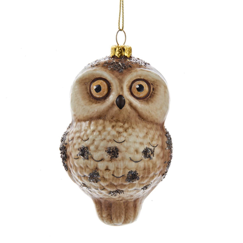 Owl Christmas Ornament Part - 20: Personalized Christmas Ornament - Owl Baby Boyu0027s First Christmas -  Walmart.com