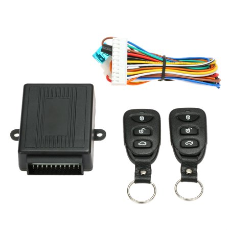 Universal Car Door Lock Keyless Entry System with Trunk Release Button Remote Central Control Box Kit - Oem Trunk Kit Body