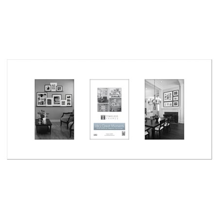 Timeless Frames Lifes Great Moments Three Opening Horizontal Collage Photo Frame