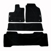 Fit 01-06 ACURA MDX Custom Fit Premium Nylon Black Floor Mats Carpet For 2001 2002 2003 2004 2005 2006 01 02 03 04 05 06