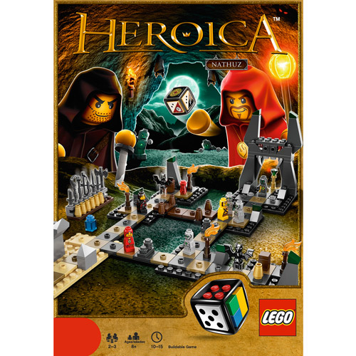 LEGO Games Heroica Caverns of Nathuz