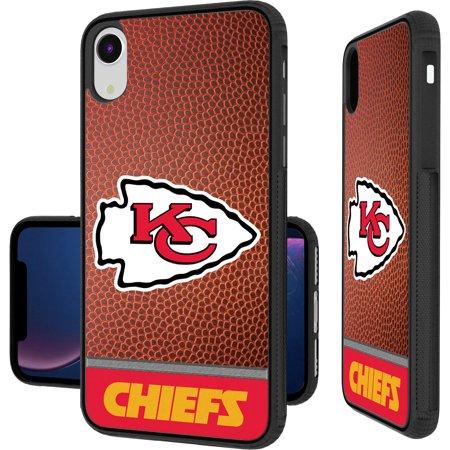 Kansas City Chiefs iPhone Bump Case with Football Design