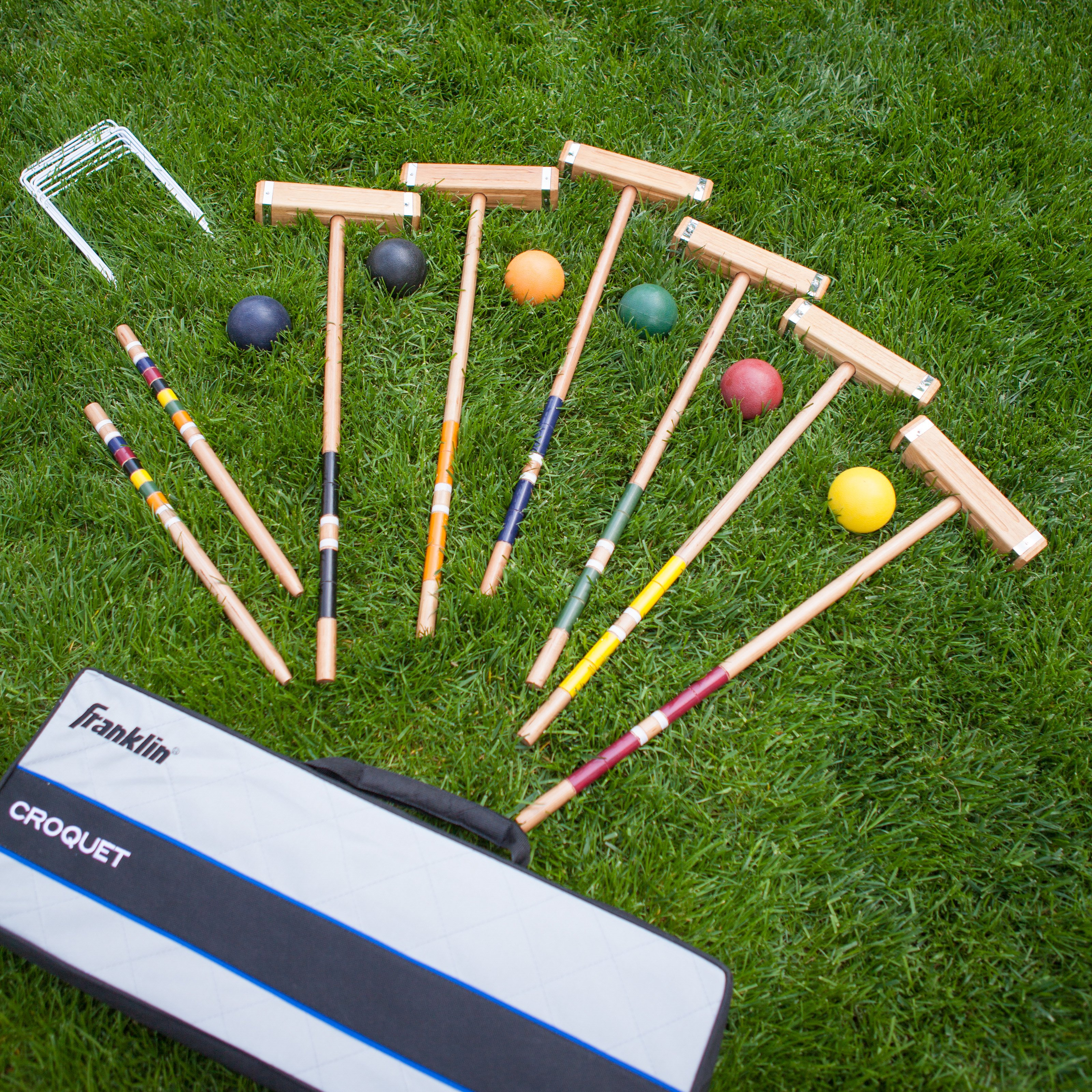 Franklin Advanced Steel Banded Croquet Set