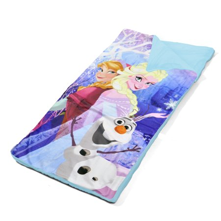 Disney Frozen Olaf 3D Pillow with Sleeping Bag Nap Mat