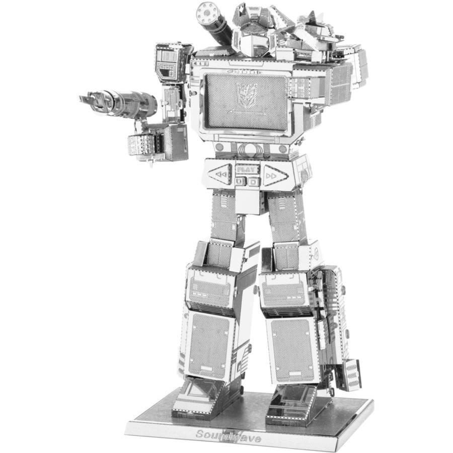Metal Earth 3D Laser-Cut Model, Transformers Soundwave