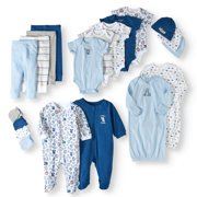 Garanimals Newborn Baby Boy Baby Shower Layette Gift Set, 20pc
