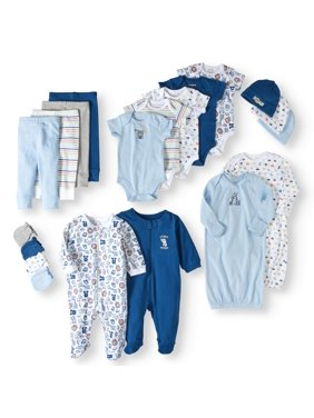 34318ef44a59f Product Image Garanimals Newborn Baby Boy 20 Piece Layette Baby Shower Gift  Set
