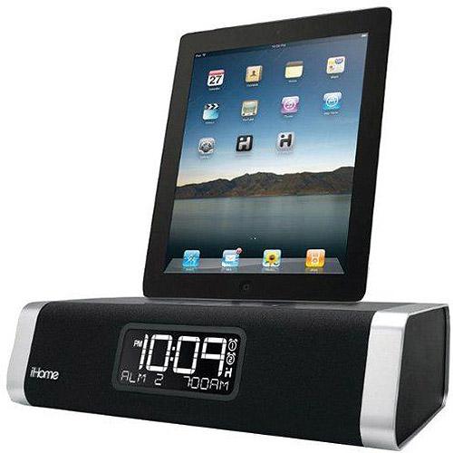 iHome iD50 Bluetooth Dual Alarm Clock for iPhone with Speakerphone
