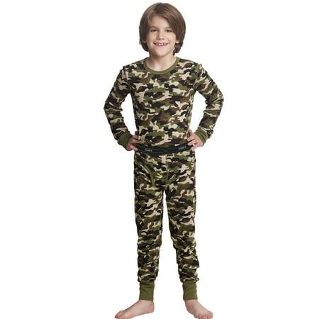 Hanes X-Temp Boys` Thermal Set, L, Camo - image 1 de 1