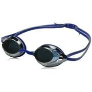 Speedo Vanquisher 2.0 Mirrored Swim Swimming Competition Goggle, Silver/Blue