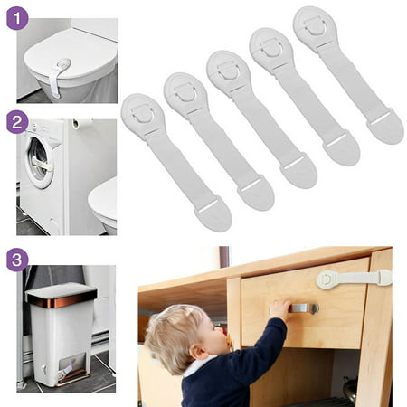 10pcs Child Kids Baby Pet Proof Safety Lock For Door Fridge Cupboard Cabinet Drawer refrigerators toilets