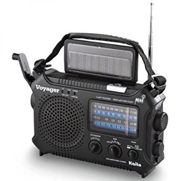 KAITO KA500 5-way Powered Emergency AM/FM/SW NOAA Weather...