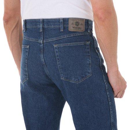 Wrangler - Men&39s Regular Fit Jeans with Comfort Flex Waistband