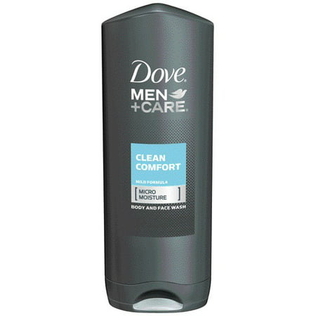 Dove Men Care Body Wash And Face Wash Clean Comfort 13 5 Oz Walmart Com Walmart Com