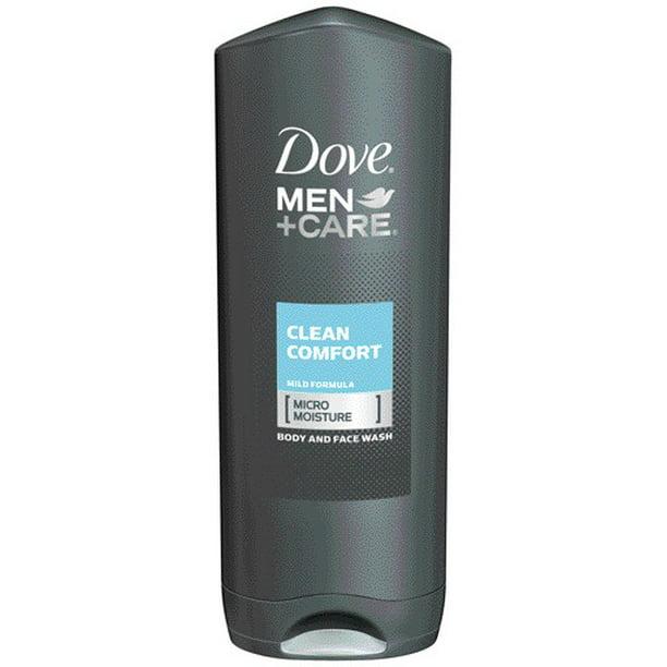 Dove Men Care Body Wash And Face Wash Clean Comfort 13 5 Oz Walmart Com Walmart Com