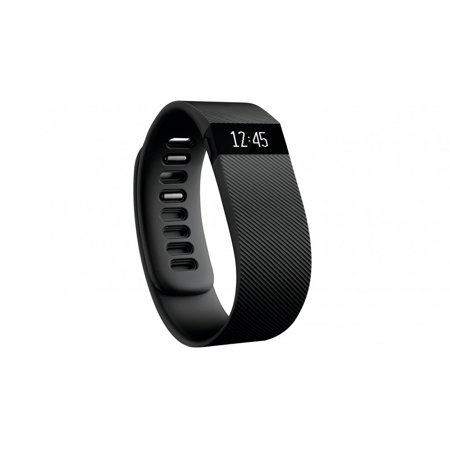 Fitbit Charge HR Heart Rate Wireless Activity Wristband, Black, Large