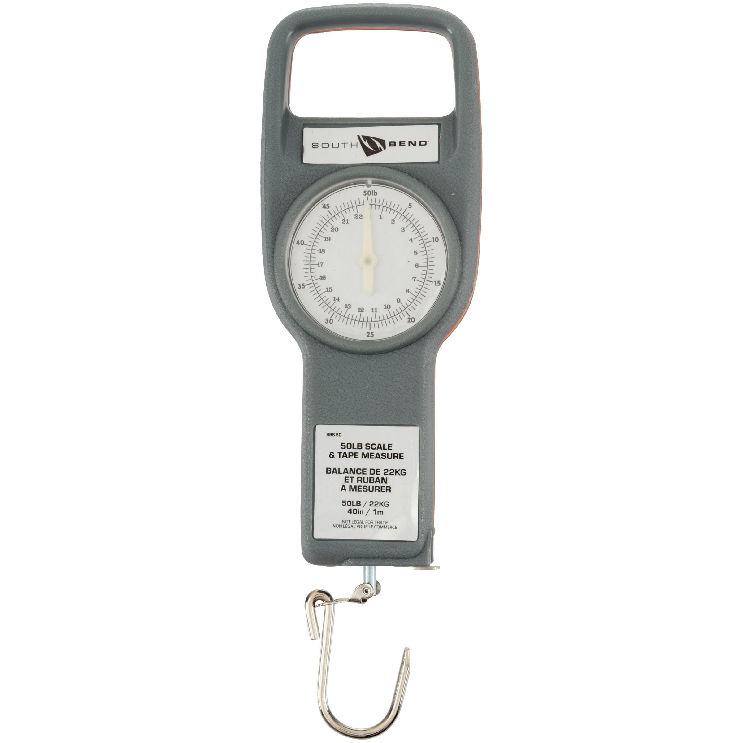 South Bend® 50 lb. Scale & Tape Measure