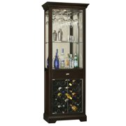 "Howard Miller 690005 Gimlet 29"" 1 Drawer Hardwood Bar/Wine Cabinet - Black"