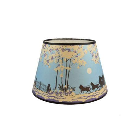 Aladdin n144 02 coach and four horses parchment lamp shade 14 aladdin n144 02 coach and four horses parchment lamp shade 14 winter scene aloadofball Gallery