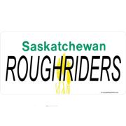 Saskatchewan Roughriders Photo License Plate