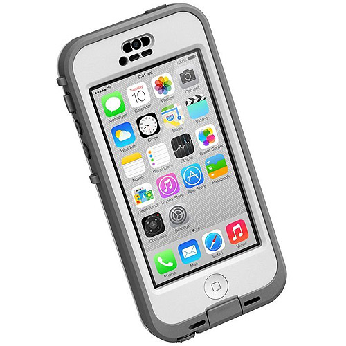 iPhone 5c Lifeproof apple iphone case nuud series, gray