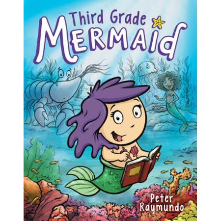 Third Grade Mermaid - 3rd Grade Level Halloween Books