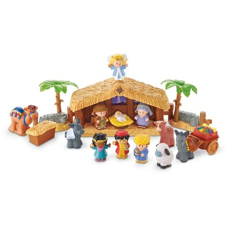 Fisher-Price Little People A Christmas Story (Nativity Animals)