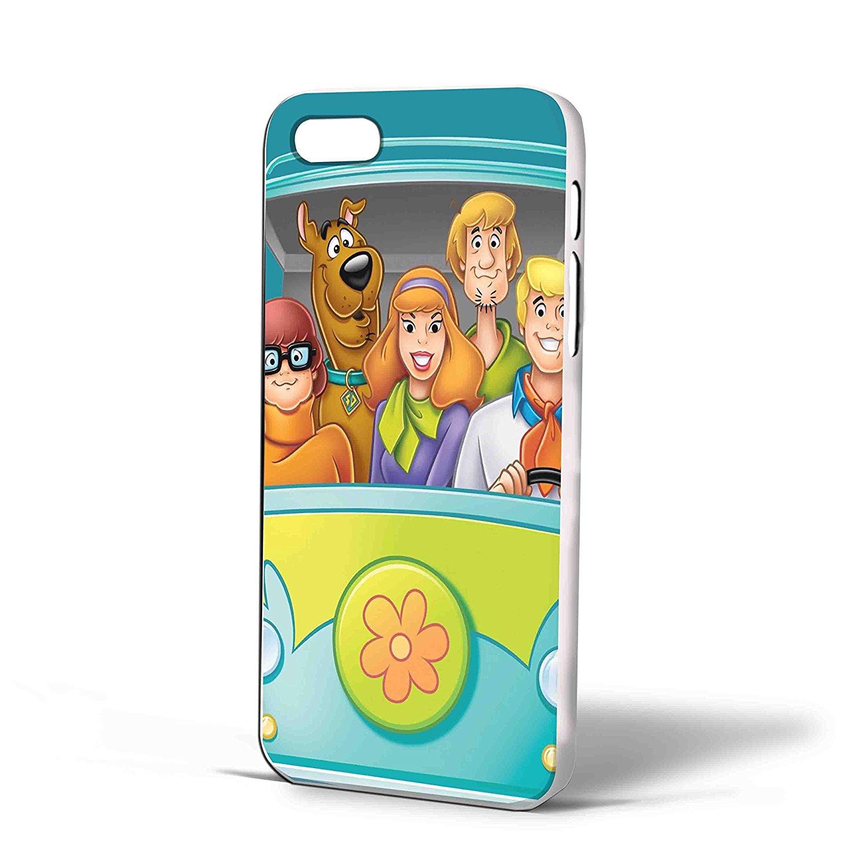 Ganma Scooby Doo the Mystery Machine Car Case For iPhone Case (Case For iPhone 6 plus White)
