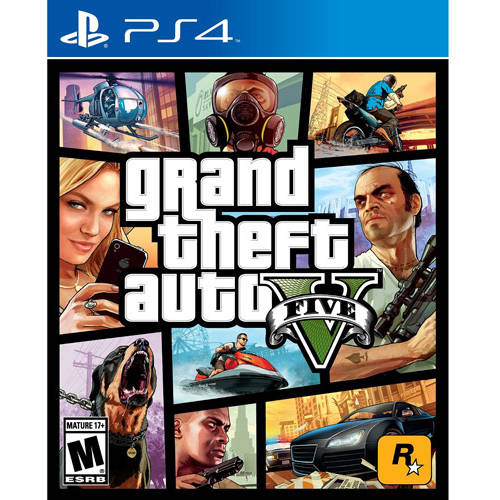 Grand Theft Auto V (Used), Rockstar Games, PlayStation 4, 886162539592 by Take 2