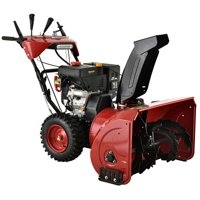 AST-28 Deluxe 28 inch 252 cc Two-Stage E-Start Gas Snow Blower with Heated Grips