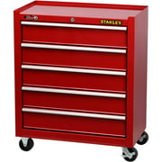 Stanley 5-drw Cabinet, Red
