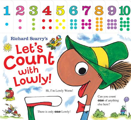 Richard Scarrys Lets Count With Lowly (Board Book)