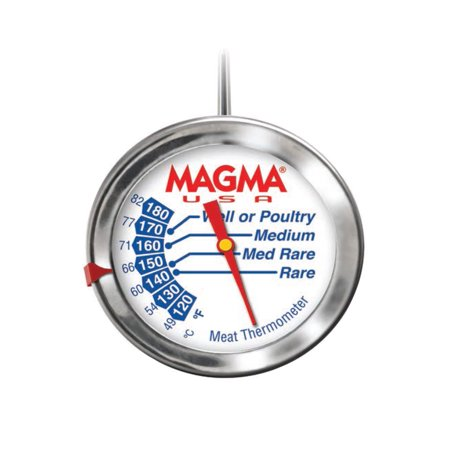 MAGMA GOURMET MEAT THERMOMETER STAINLESS STEEL MAGMA GOURMET MEAT THERMOMETER STAINLESS STEEL