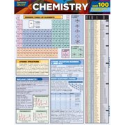 BarCharts 9781423219125 Chemistry Quizzer Quickstudy Easel